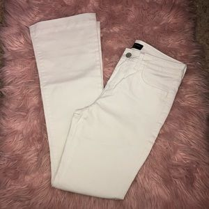 BRAND NEW Banana republic white jeans